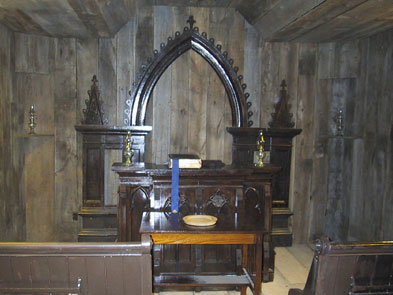 Chapel, Minister's Study and Library